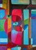 Variaciones geométricas II | Pintura de Helena Revuelta | Compra arte en Flecha.es
