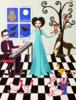 Matilda canta una canción | Pintura de Ángela Fernández Häring | Compra arte en Flecha.es