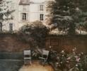 Paris-Museo Delacroix (jardin) | Pintura de Carmen Nieto | Compra arte en Flecha.es