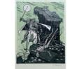 El Testamento de Don Quijote (III) | Dibujo de François Marechal | Compra arte en Flecha.es