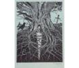 El Testamento de Don Quijote (IV) | Dibujo de François Marechal | Compra arte en Flecha.es