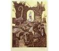 El Testamento de Don Quijote (X) | Dibujo de François Marechal | Compra arte en Flecha.es
