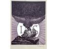 EL Testamento de Don Quijote (XII) | Dibujo de François Marechal | Compra arte en Flecha.es