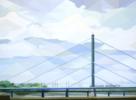 Puente de Düsseldorf | Pintura de Luis Monroy Esteban | Compra arte en Flecha.es