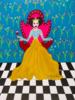 Reina Matilda de Copas | Pintura de Ángela Fernández Häring | Compra arte en Flecha.es