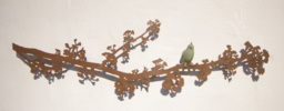 Rama de Ginkgo con pájaro   Escultura de Charlotte Adde   Compra arte en Flecha.es