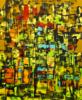 La  jungla | Pintura de Eddy Miclin | Compra arte en Flecha.es
