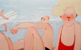 Afternoon   Pintura de Yana Medow   Compra arte en Flecha.es