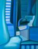 Estructuras metabólicas en tránsito | Pintura de Helena Revuelta | Compra arte en Flecha.es