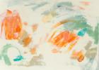Abstracción naranja y verde II   Pintura de Susana Sancho   Compra arte en Flecha.es