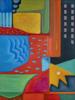 Variaciones geométricas VIII | Pintura de Helena Revuelta | Compra arte en Flecha.es