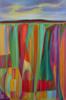 Geometric Twilight | Pintura de Helena Revuelta | Compra arte en Flecha.es