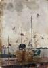Schooner   Pintura de Shponko Gregori Andreevich   Compra arte en Flecha.es