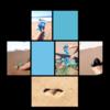 Cuerpo raro en azul celeste 1   Digital de Lisa   Compra arte en Flecha.es