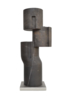 Composición cilíndrica sobre línea III   Escultura de Borja Barrajón   Compra arte en Flecha.es