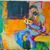 Metro Madrid | Pintura de Luz Parra | Compra arte en Flecha.es