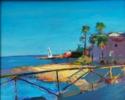 Cala Goset | Pintura de Luz Parra | Compra arte en Flecha.es
