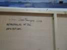 metrópolis nº 56 | Pintura de saiz manrique | Compra arte en Flecha.es