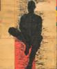 PERSONAJE SENTADO | Pintura de Luis Granda | Compra arte en Flecha.es