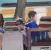 Talking to | Pintura de Saracho | Compra arte en Flecha.es