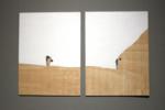 Paisaje vs vacío   Collage de Adriana Gurumeta   Compra arte en Flecha.es