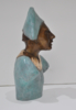 El busto del arlequín.   Escultura de Jenifer Carey   Compra arte en Flecha.es