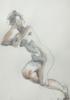 En la Diagonal | Dibujo de Jaelius Aguirre | Compra arte en Flecha.es