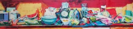 Claudia   Pintura de Angeli Rivera   Compra arte en Flecha.es