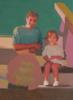 Ventanas verdes   Pintura de Irene Marzo   Compra arte en Flecha.es