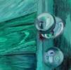 Contre- plongée | Pintura de ODETTE BOUDET | Compra arte en Flecha.es