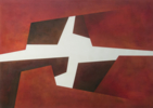 Atardecer en el monte Sinaí | Pintura de JESUS DEL PESO | Compra arte en Flecha.es