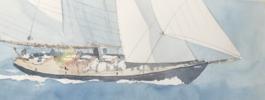 Velero II | Pintura de Iñigo Lizarraga | Compra arte en Flecha.es