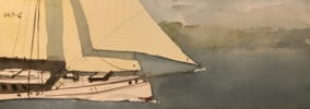 Goleta | Pintura de Iñigo Lizarraga | Compra arte en Flecha.es