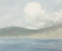 Montañas desde cubierta | Pintura de Iñigo Lizarraga | Compra arte en Flecha.es