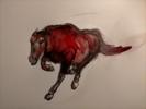 Running Horse | Dibujo de OliverPlehn-Artist | Compra arte en Flecha.es