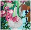 """""""Jarrón con flores""""   Collage de Leticia González Serrano   Compra arte en Flecha.es"""