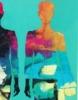 Twins on the party | Pintura de Francisco Santos | Compra arte en Flecha.es