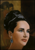 Liz Taylor   Pintura de Enrique González   Compra arte en Flecha.es