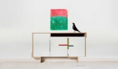Red and green | Pintura de Luis Medina | Compra arte en Flecha.es