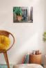Las macetas de la puerta   Pintura de Antonio Barahona   Compra arte en Flecha.es