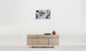 Tocado azul | Pintura de Eduardo Vega de Seoane | Compra arte en Flecha.es