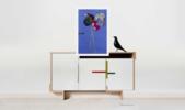 Equilibrista. Serie de la figuras abstractas  (1) | Collage de Raul Eberhard | Compra arte en Flecha.es