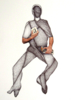 Pantocrator | Collage de Merche Chia | Compra arte en Flecha.es