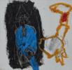 El Señor y la Señora Andrews (cartón III) | Pintura de Celia Muñoz | Compra arte en Flecha.es